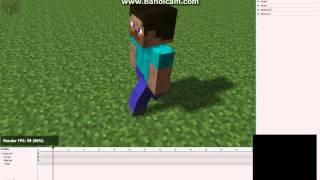 Как сделать анимацию бега в mine-imator