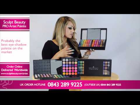 Sculpt Beauty PRO Artists Makeup Palette