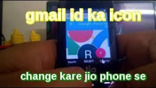 How change youtube channel icon or gmail id photo in jio phone