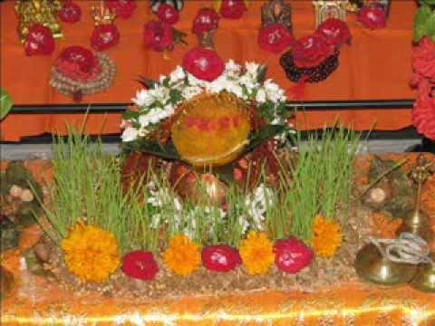 Durga Puja 2010 / Ghat Sthapana / Kalash Sthapana