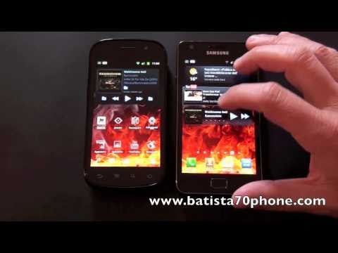 Video Confronto tra Samsung Galaxy S2 e Nexus S by batista70phone