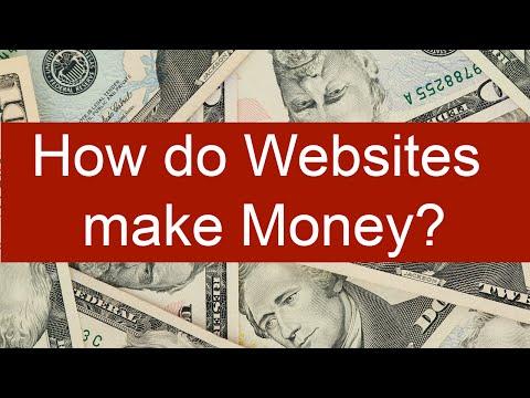 How do Websites make Money from Traffic?