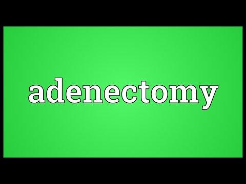 Header of adenectomy