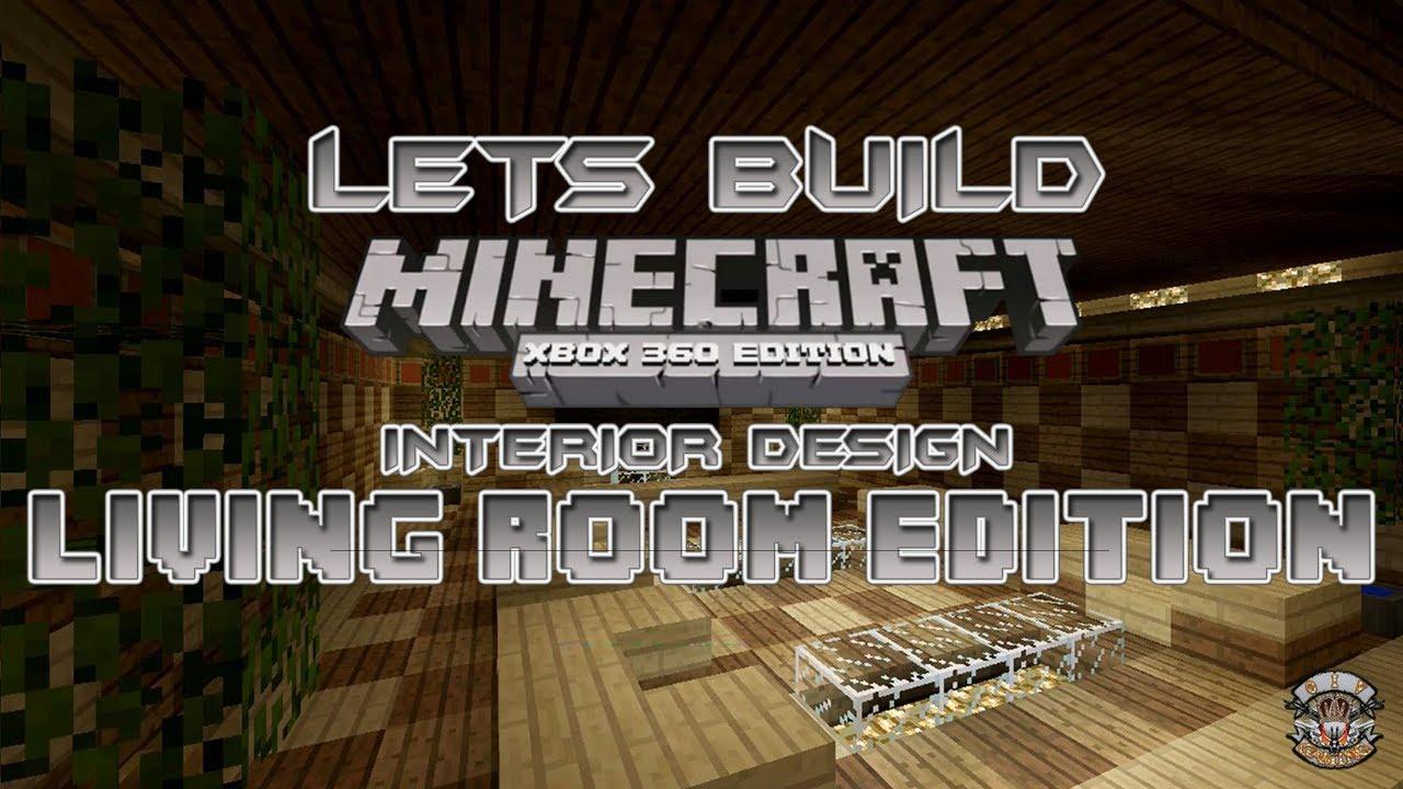 Minecraft living room designs joy studio design gallery for Minecraft xbox 360 interior designs