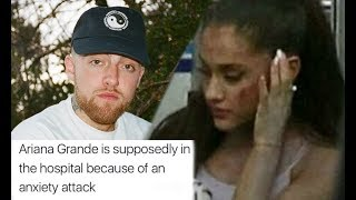 Download Lagu Ariana Grande Hospitalized After Anxiety Attack about Mac Miller Gratis STAFABAND