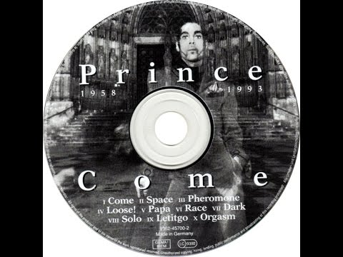 Prince - Come: U Should Do That Baby!