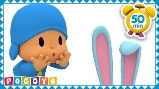 🐰 POCOYÓ en ESPAÑOL - El conejo de Pascua [ 50 min ] | CARICATURAS y DIBUJOS ANIMADOS para niños