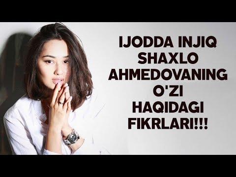 Shahlo Ahmedova Biografiyasi