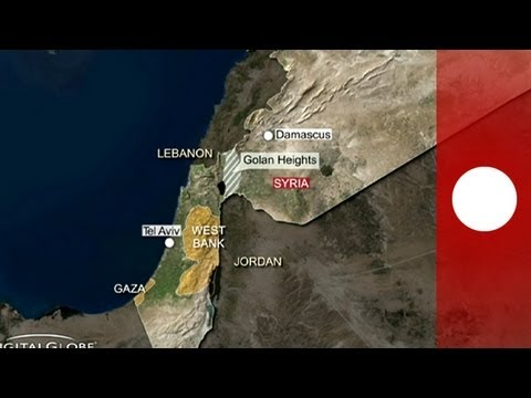 Golan Heights: Fresh tension after Israeli vehicle attacked