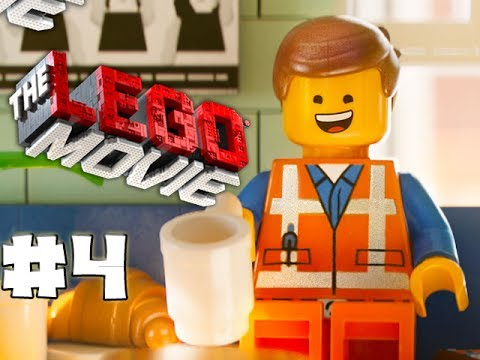 THE LEGO MOVIE VIDEOGAME - LEGO BRICK ADVENTURES - Part 4 - FIREWORKS! (HD Gameplay Walkthrough)