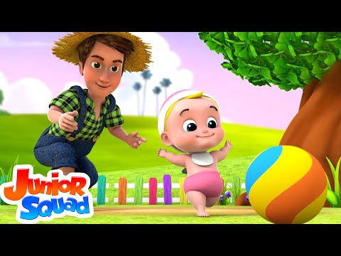 Laughing Baby | Nursery Rhymes | Songs For Kids By Junior Squad