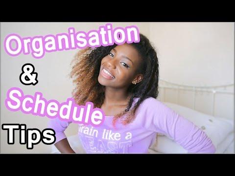 Organisation & Schedule tips | #MotivationMonday