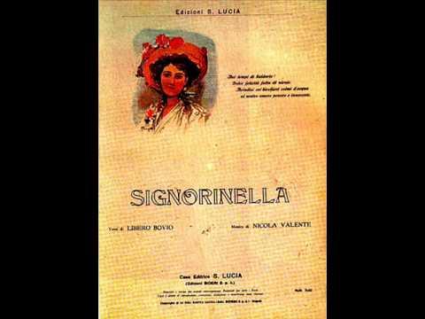 Alberto Rabagliati – Signorinella (con testo).wmv