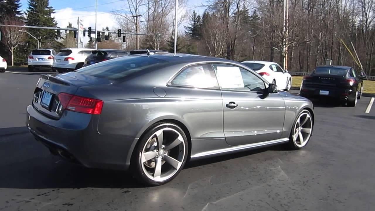 2014 Audi Rs5 Daytona Gray Pearl Effect Stock 109788