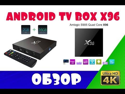 Приставка Android TV BOX X96 2G/16G UHD 4K (ОБЗОР - НАСТРОЙКА - ТЕСТ)