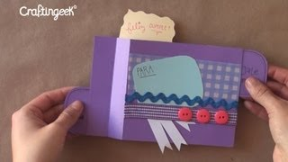 Pop-up sorpresa // Scrapbook FACIL [original + diferente]