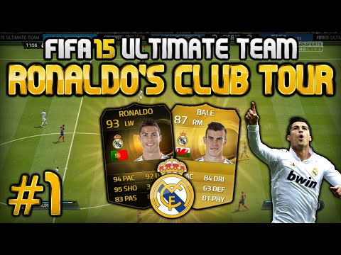 FIFA 15 - Ronaldo's Club Tour - #1 - Real Madrid