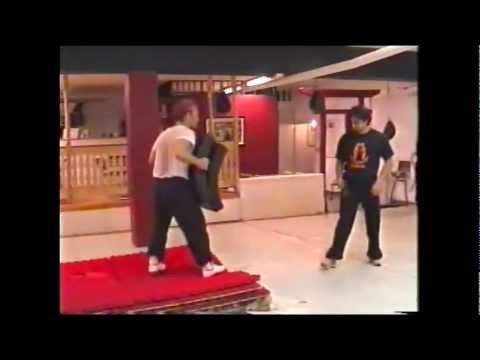 JKD Kicks and drills, 2003, Jeet Kune Do Sweden. Image 1