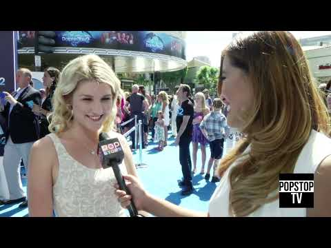 Emmy Buckner Gives Her Dolphin Sounds and Talks about Her Show and Tells us her Celebrity Crush!