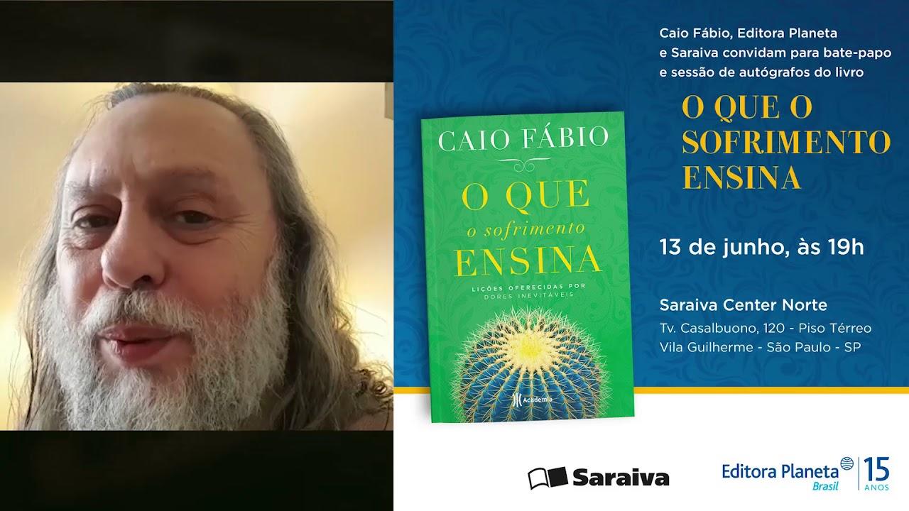 Noite de autógrafos com Caio Fábio em São Paulo!  - 13 de junho! 19h.