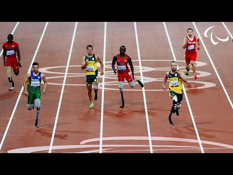 Athletics - Men's 200m - T44 Final - London 2012 Paralympic Games