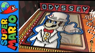 Super Mario Odyssey (IN 148,777 DOMINOES!)