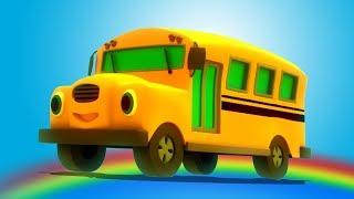 Bánh xe trên xe buýt | vần điệu trẻ | Kids Song | Rhymes For Preschool | Wheels On The Bus
