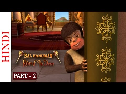 Bal Hanuman - Return Of The Demon - Part 2 Of 5 - Hindi Animated Story video