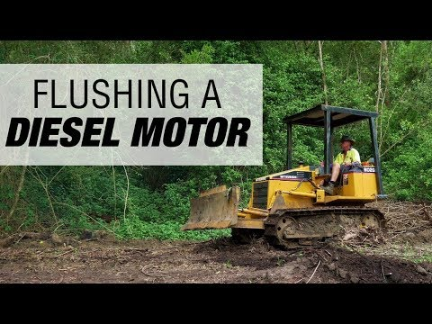 How to Clean A Diesel Motor using Engine Oil Flush