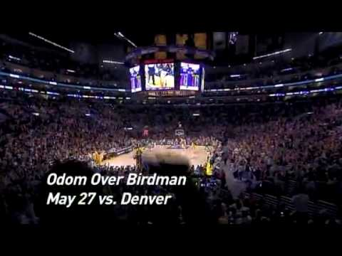 NBA 2008-2009 Los Angeles Lakers Top 10 Season Plays HD