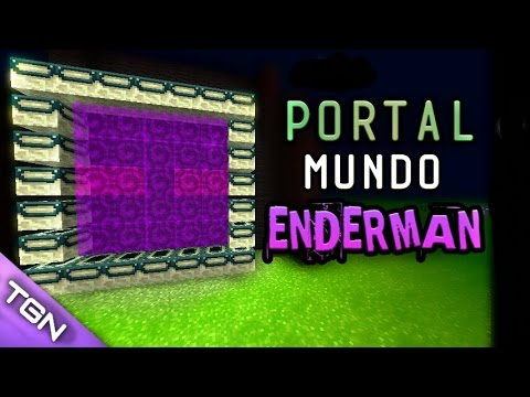 PORTAL MUNDO ENDERMAN REAL | MINECRAFT PE (MCPE) Minecraft Pocket Edition 2017 (1.0.2)