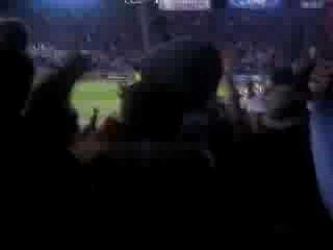 David Ortiz single beats Yankees Game 5 ALCS 2004 Video