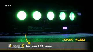 BeamZ Pro MHL510 Color Sweeper 5x 10W Quad LED 150.516