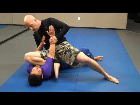 jay-jitsu BJJ - No Gi - Near side arm bar from side mount Image 1