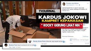 VIRAL KARDUS JOKOWI ! Bikin Rocky Gerung Nangis & Para Kampret Kepanasan