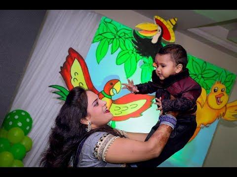 PHOOL JAISI MUSKAAN   RUDRA   1ST BIRTHDAY   HIGHLIGHTS   VIDEOGRAPHY  