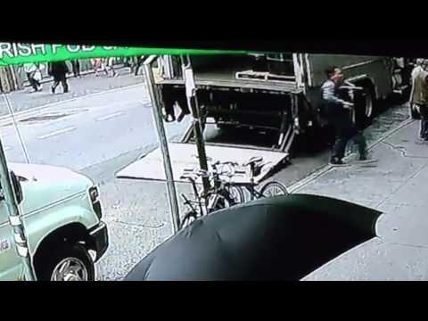 robo un camion blindado con un metodo que ni al mejor ladron se le hubiera ocurrido