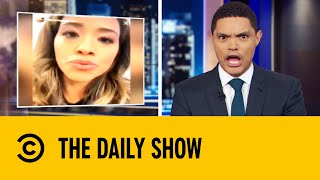 Gina Rodriguez In Hot Water After Using The N-Word On Instagram | The Daily Show With Trevor Noah