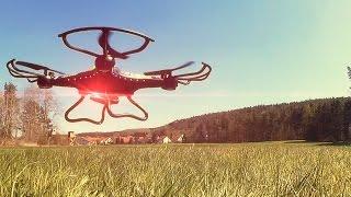 JJRC H8C Quadrocopter - 60€ Drohne Mit HD Kamera / Testbericht & Testflug