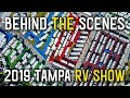 2019 Tampa RV Show with Less Junk, More Journey - Part 1