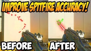 How to Improve Accuracy With The BO4 Spitfire! (With Wild Fire Operator Mod)