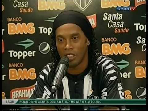 Ronaldinho Gaúcho chegada ao Atlético Mineiro Ta na Área Sportv