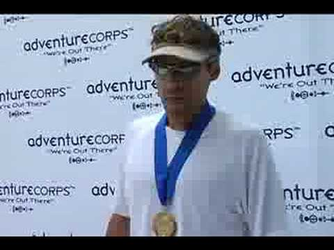 2008 Badwater: Dean Karnazes Finishes: AdventureCORPS Badwater Ultramarathon