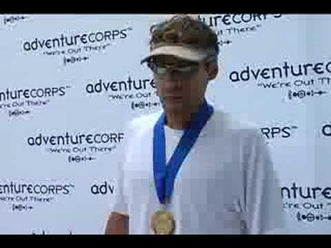 2008 Badwater: Dean Karnazes Finishes: AdventureCORPS Badwater Ultramarathon