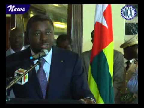 President Sirleaf receives the presidents of Togo and the ECOWAS Commission