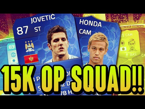 FIFA 14 - CHEAP 15K OVERPOWERED TEAM!!!! - SQUAD BUILDER - FIFA 14
