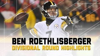 Ben Roethlisberger Leads Steelers to AFC Championship   NFL Divisional Player Highlights