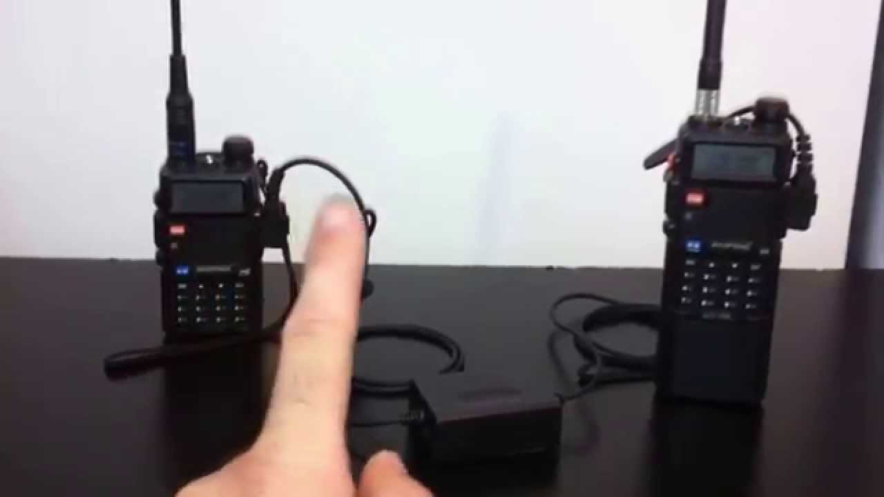 Set up a Baofeng UV-5R repeater -