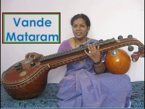 "Learn ""Vande Mataram"" in Veena By Dr.Devika Bhatnagar thumbnail"