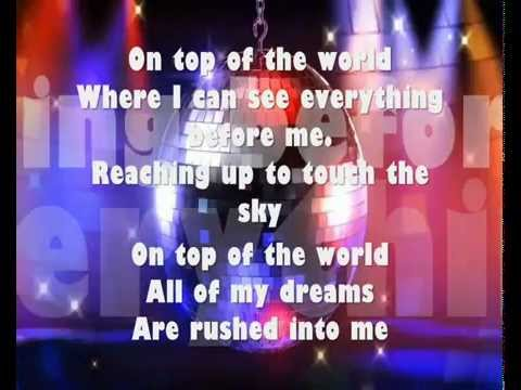 On top of the world barbie princess charm school lyrics backgrounds youtube - On top of the world wallpaper ...